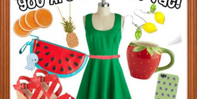 Fashion Friday: You Are What You Eat!