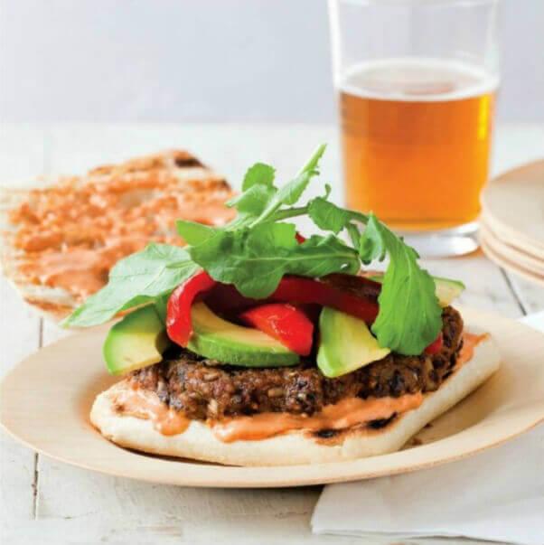 Ultimate Sriracha Veggie Burger