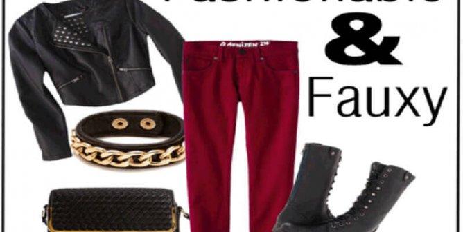 Fashion Friday: Fashionable and Fauxy