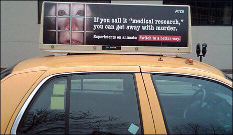 New Ads Show Cruel Reality of Vivisection | PETA