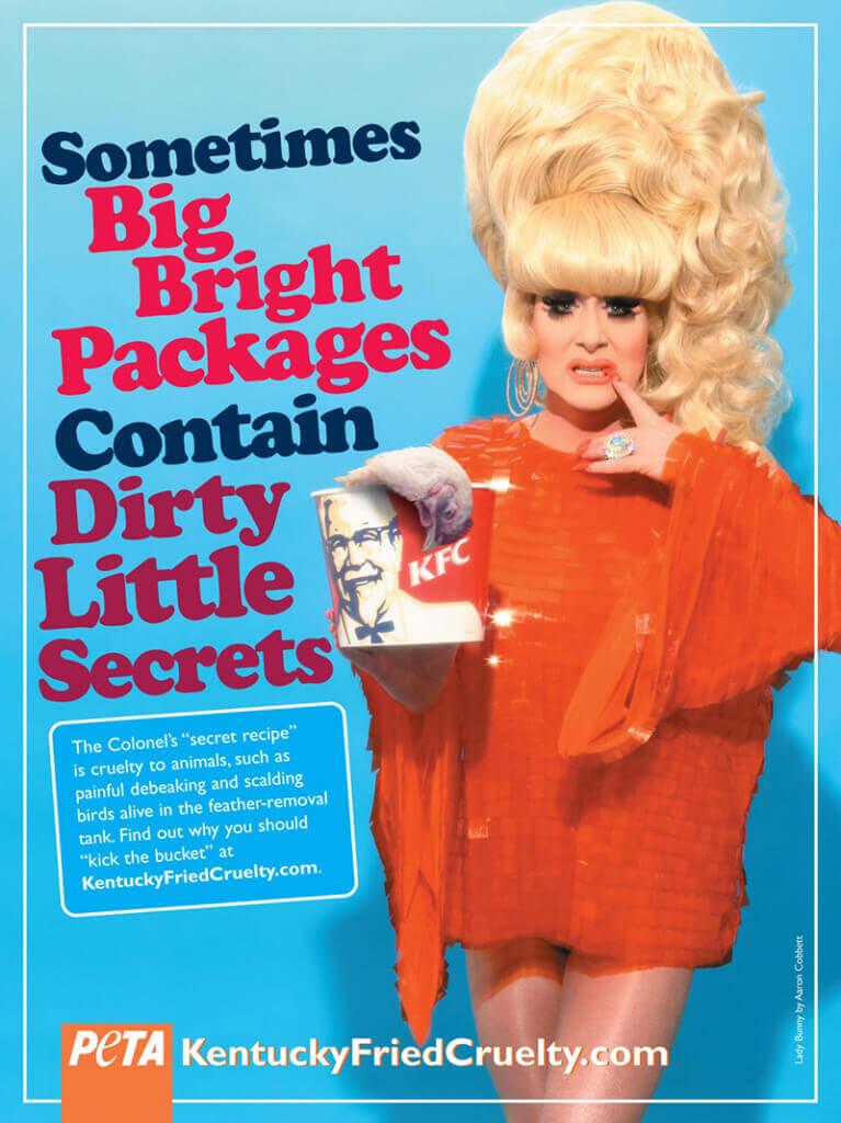 Lady Bunny Dirty Little Secret KFC