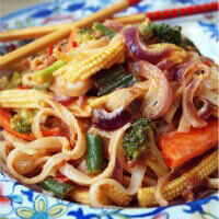 Mary McCartney's Yummy Spicy Rice Noodles