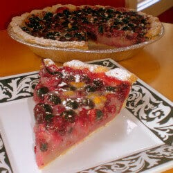 Sweet peta pie
