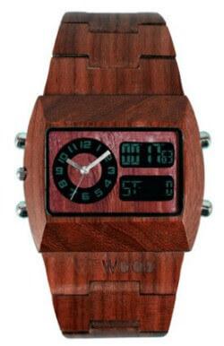 mens wood watch