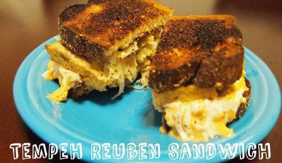 Mouthwatering Tempeh Reuben Sandwiches