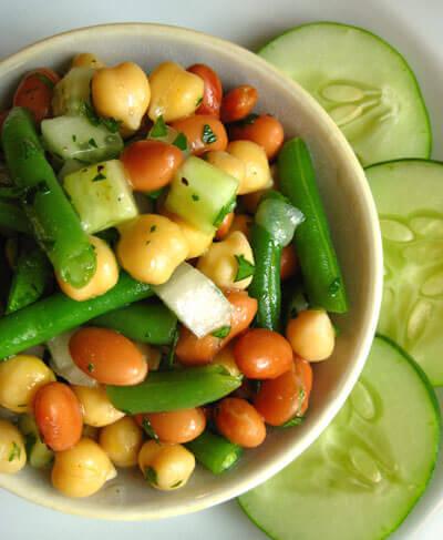 Summer Salads: Three-Bean