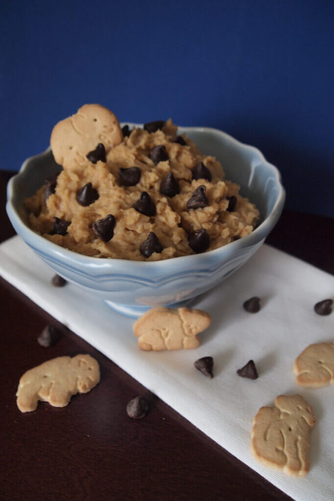 Chocolate Chip Peanut Butter Hummus