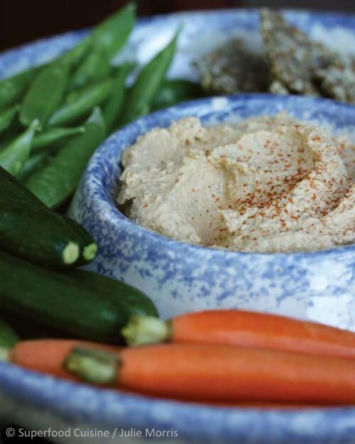 'Superfood Cuisine': Hemp Hummus