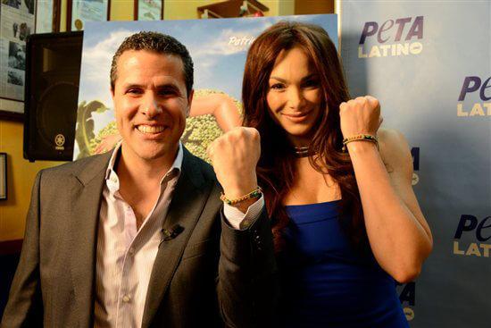 hispanic heritage month latine celebs partner with peta marco antonio regil