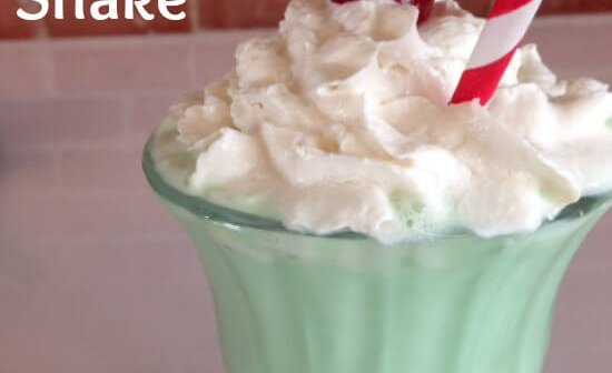 Green St. Patty's Shake Recipe
