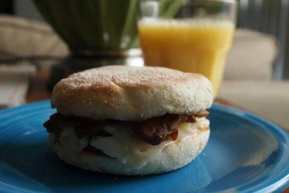 Smoky, Crunchy Breakfast Tempeh