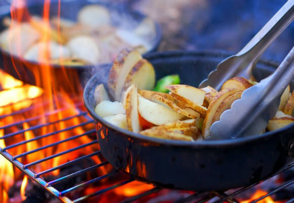 Campfire Cooking: Vegan Style