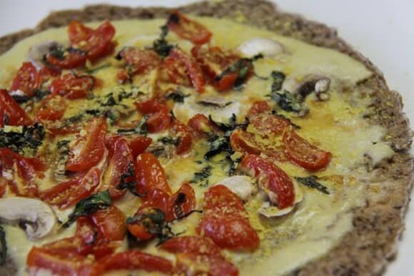Raw Cheeze Pizza