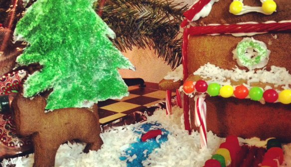 Make a Vegan Gingerbread House!