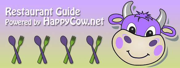 Restaurant Guide Powered by Happy Cow