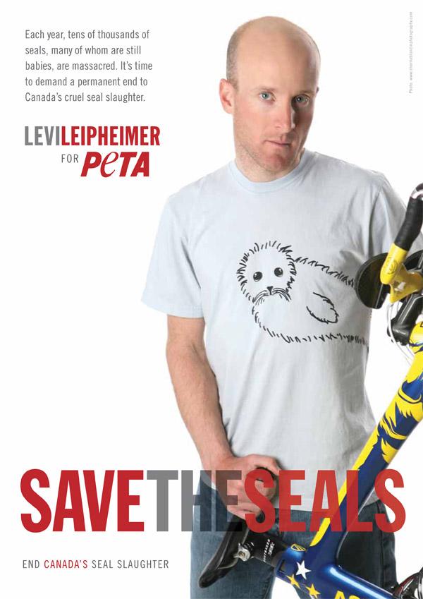 Levi Leipheimer Seal Slaughter