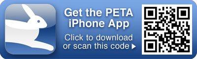 PETA's iPhone App