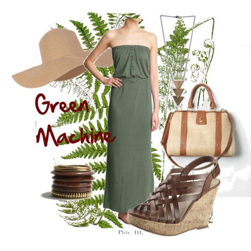 Fashion Friday: Green Machine
