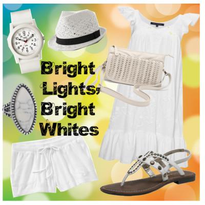 Fashion Friday: Bright Lights, Bright Whites