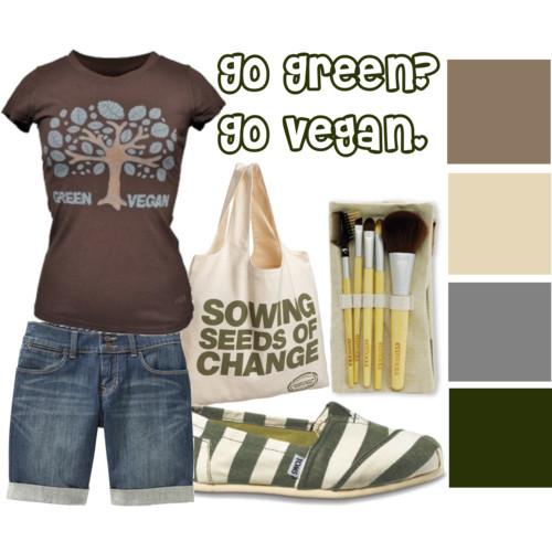 Fashion Friday: Go Green? Go Vegan.