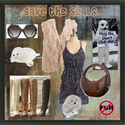 Fashion Friday: Save the Seals