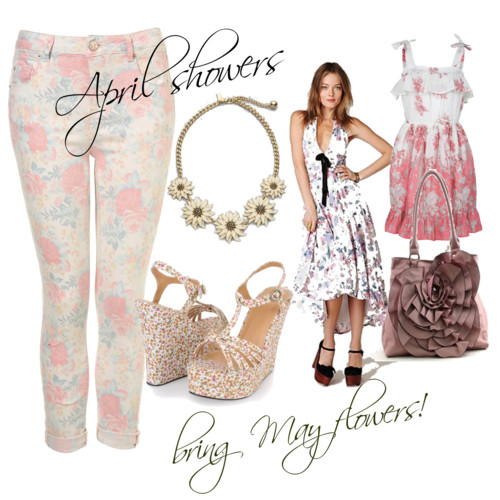 Fashion Friday: April Showers Bring May Flowers