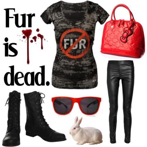 Fashion Friday: Fur Is Dead