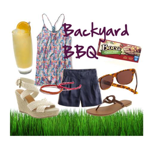 Fashion Friday: Backyard Barbecue