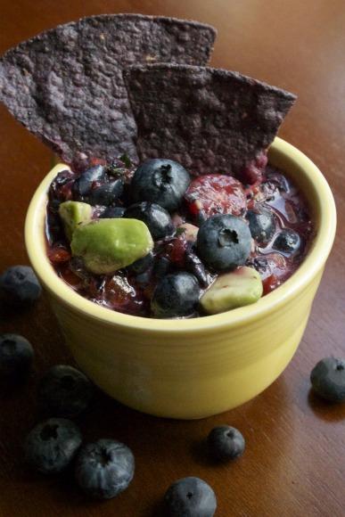 Blueberries in My Salsa?