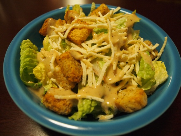 The Perfect First Course: Vegan Caesar Salad