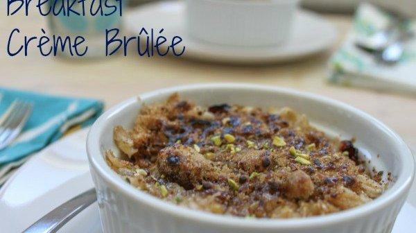 Breakfast Crème Brûlée