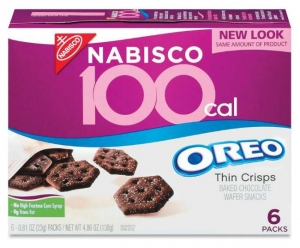 Nabisco 100 Cal Oreo Thin Crips