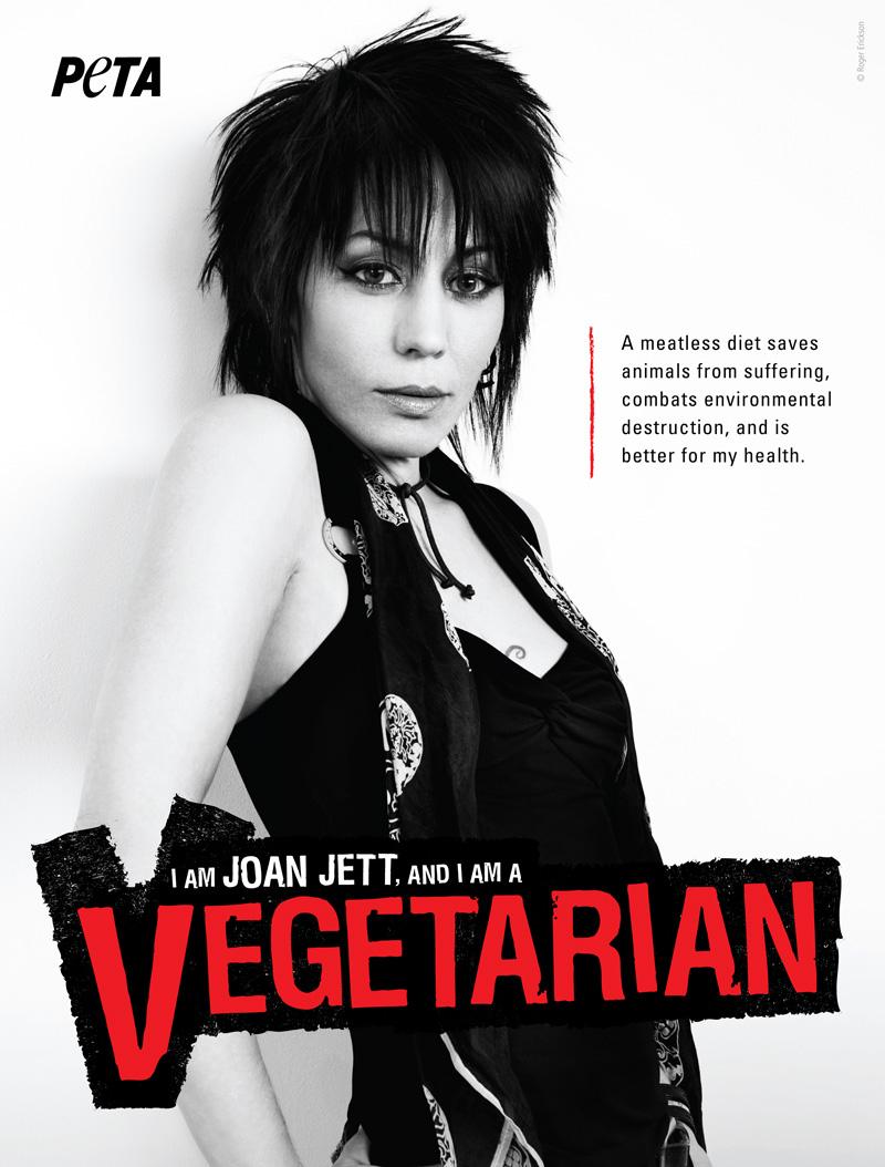 Joan Jett Loves Animals And Rock N Roll Peta