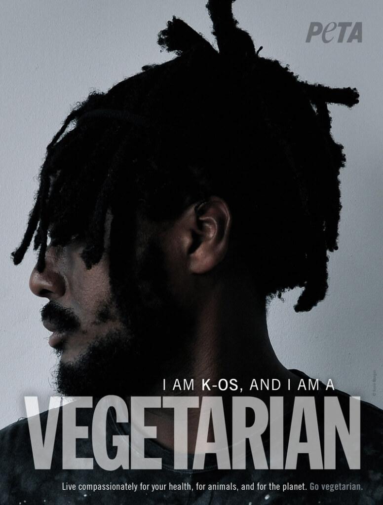 PETA K-Os Vegetarian PSA