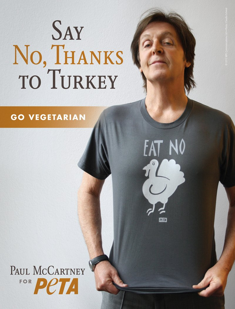 Image result for paul mccartney veggie