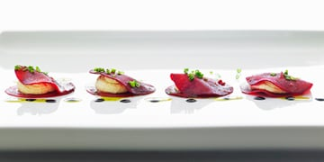 Guest Post by Chef Sarno: Beetroot Ravioli