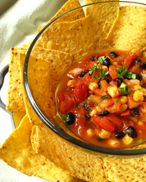 Game Day Treats: Low-Fat Chips and Dip
