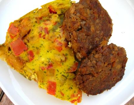 Vegan Vegetable Frittata