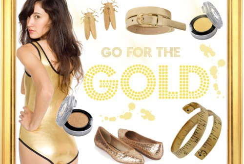 Fashion Friday: Go for the Gold