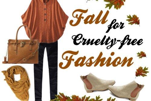 Fashion Friday: Fall for Cruelty-Free Fashion