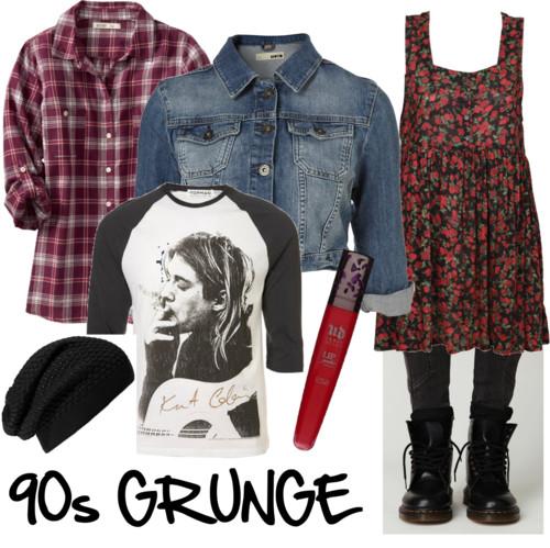 Fashion Friday: 90s Grunge