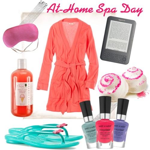Fashion Friday: At-Home Spa Day