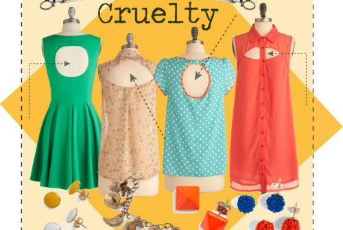 Fashion Friday: Cut Out Cruelty