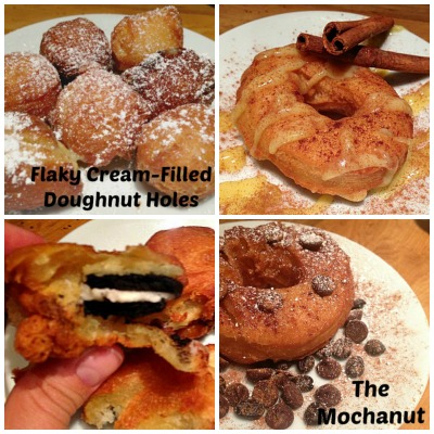 Vegan Cronut Copycat Collage