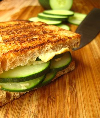 Crispy Cucumber Sandwiches