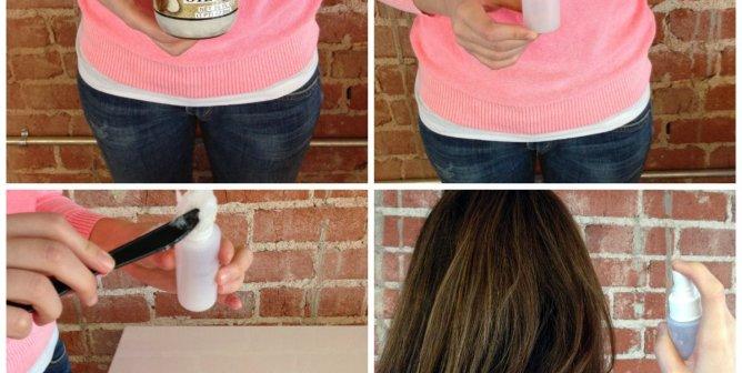 DIY Hair Conditioning Spray (Video)