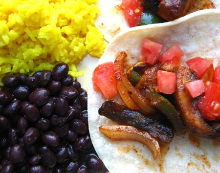 Messy Fajita Tacos