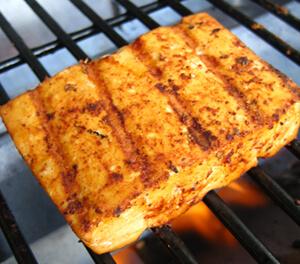 Grilled Tofu With Blackened Seasoning