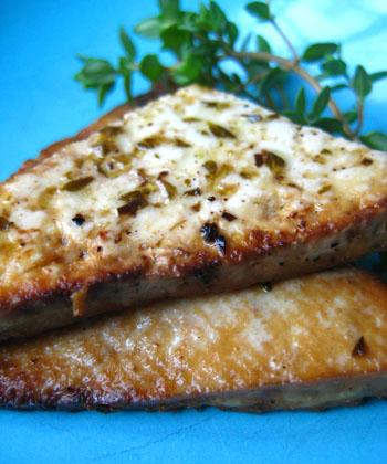 Herbed Lemon Tofu