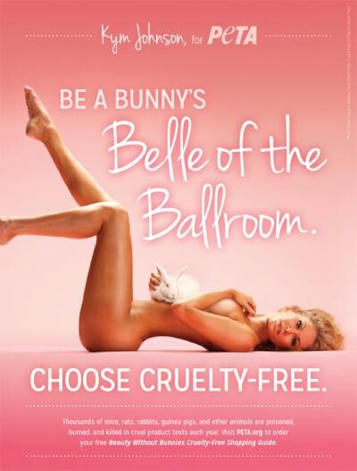 Kym Johnson: Be a Bunny's Belle of the Ballroom